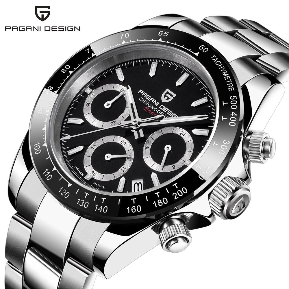 PAGANI DESIGN 2020 New Men's Watches Quartz Business watch Mens Watches Top Brand Luxury Watch Men Daytona Chronograph Relogio Masculino free drop shipping (26)