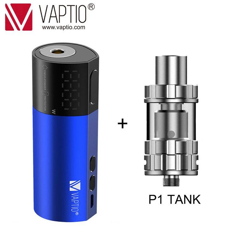Cadeau Vape mod 100W Cigarette Électronique Vaptio VEX Boîte MOD vape batterie 510 fil atomiseur ajustement 18650 batterie аккумулятор 21700