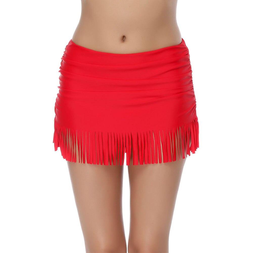 Women's Versatile Swimming Trunks Belly Covering Cover Hip Slimming Large Hem Hot Springs Anti-Exposure Skirt Leggings LB160246