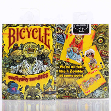 1 deck Bicycle Card Everyday Zombie Playing Cards Regular Deck Rider Back Magic Trick Props