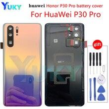 Original huawei p30pro bateria capa para p30pro/p30 substituir a capa da bateria com câmera capa p30pro