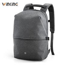 Рюкзак kingsons мужской для ноутбука 15 дюймов с usb зарядкой