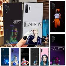 чехол для для мобильных телефонов oem iphone 6 4 7 6 g 6 5 5 5 5s 5 c 4 4s samsung s5 i9600 s4 i9500 3 2 case for iphone4g 5g 6 6 plus samsung galaxy s5 s4 note3 note2 CUCI Halsey Phone Case For Samsung Galaxy Note3 4 5 7 8 9 10 Pro M10 20 30 A3 2 310 6 7