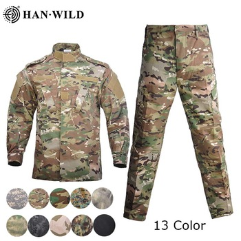 Men Military Uniform Airsoft Camouflage Tactical Suit Camping Army Special Forces Combat Jcckets Pants Militar Soldier Clothes 1