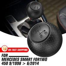 Perilla de palanca de cambios de coche palanca de cambio automático, palo de mano, para Mercedes Smart Fortwo 450 2013-2019