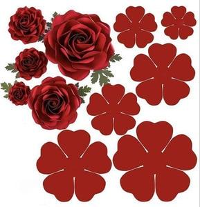 New Dies 3D Flower Cutting Dies Stencils Scrapbooking Embossing DIY Crafts Paper Cards Album Decor Metal Dies Cut