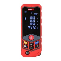 UNI T LM50D LM100D Laser Distance Meter Waterproof Digital Rangefinder 50M/100M Voice Broadcast Data Storage Measure Tape
