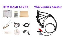 KTM פלאש 1.95 מתכנת בתוספת VAG תיבת הילוכים מתאם לקרוא ולכתוב עבור DQ250 DQ200 VL381 VL300 DQ500 DL501