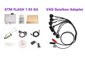 Image 1 - KTM FLASH 1.95 Programmer plus VAG Gearbox Adapter Read and Write for DQ250 DQ200 VL381 VL300 DQ500 DL501
