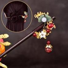 Свадебная заколка для волос с кисточками в этническом стиле