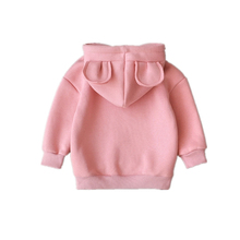 New Spring Autumn Baby Boys Girls Clothes Cotton Hooded Sweatshirt Children Fashion Hoodies Kids Casual Infant Cartoon Clothing