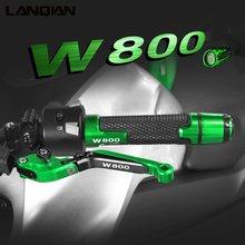 Для kawasaki w800 аксессуары для мотоциклов алюминиевые рычаги