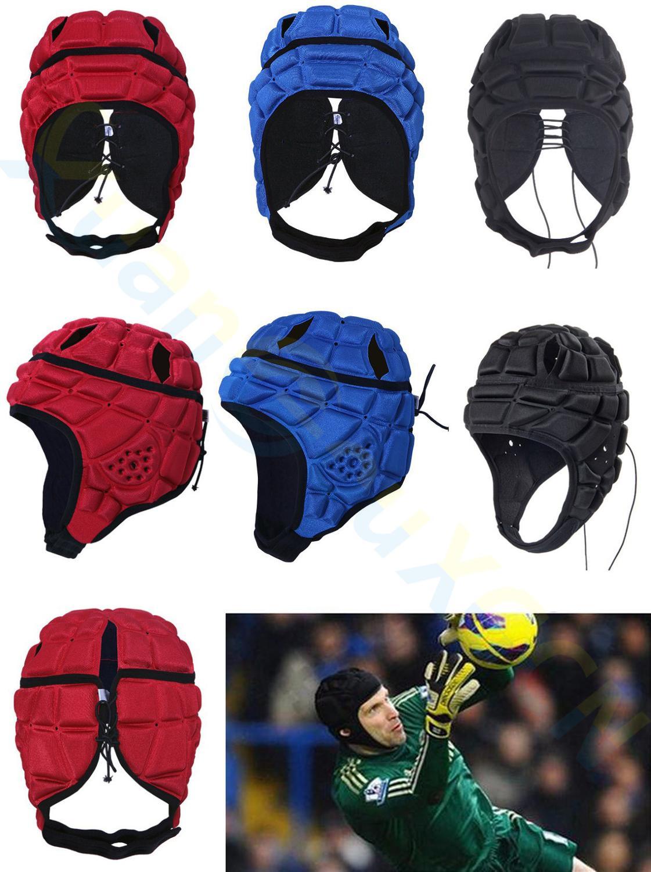 Profession Men Kid Goalkeeper Hockey Rugby Anti-collision Hat Football Helmet Women Soccer Baseball Head Protector Tank Cap