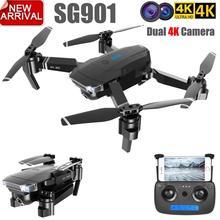 GloryStar ZLL New SG901 Camera Drone 4K HD Dual Camera Drones Quadcopter FPV Profissional Professional GPS Long Battery Life