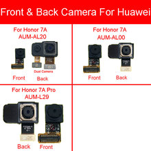 Front & Back Rear Camera Module For Huawei Honor 7A AUM AL20 AUM AL00 / Honor 7A Pro AUM L29 Small Big Main Camera Flex Cable