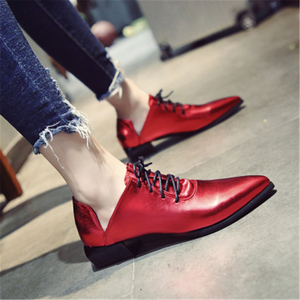 Image 5 - Ladies British vintage chunky  street shoes 2020 autumn European new style students with simple shoes elegant and  womens shoes