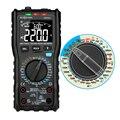 RM406A multimètre numérique testeur analogique capacité DC DC 10000 comptes multimetro numérique professionnel Anti brûlure alarme|Multimètres| |  -