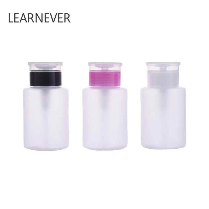 Draagbare Polish Remover Cleaner Liquid Container Nail Art Hervulbare Flessen Mini Manicure Tools Make-Up Remover Water Reizen Bot