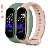Reloj Digital deportivo con control del ritmo cardíaco y del sueño, pulsera inteligente M5 con Bluetooth para Android e IOS