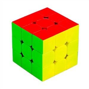 Image 2 - Magie Cube Yuxin Wenig Magie 3x3x3 Zauberwürfel Geschwindigkeit Magic Cube für Herausfordernde Geschenk Spielzeug Bunte