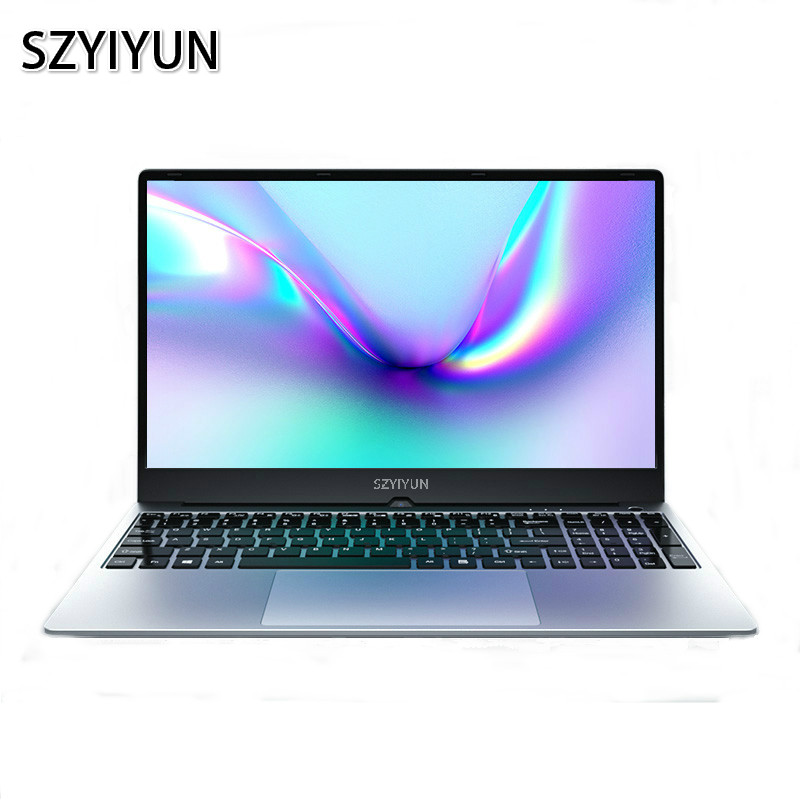 Intel <font><b>i7</b></font> Laptop 4500U <font><b>8GB</b></font> RAM Metal / Plastic Body Dual Band WiFi Full Layout Keyboard Gaming <font><b>Notebook</b></font> Computer Netbook ноутбук image
