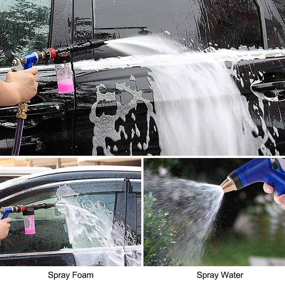 Multifunctionele Hoge Druk Car Cleaning Foam Pistool Auto Wassen Schuim Lance Schuim Wasstraat Spuitpistool Schuim Lance Tuin Auto wasmachine Pistool