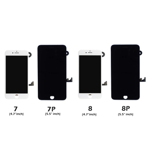 Image 5 - Full Set Complete Assembled LCD Display For iPhone 6 6S 7 8 Plus LCD Touch Screen Digitizer For iPhone 5S 5C 5 +Front Camera