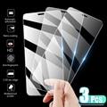 Комплект из 3 предметов, Защитная пленка для экрана из закаленного стекла для iPhone 7, 8, 6, 6s Plus, X, Защитная пленка для экрана на iPhone X XR XS MAX SE 5 5s 11 12...