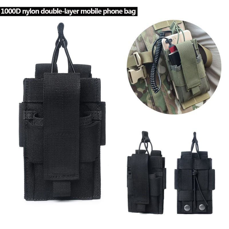 Military Nylon Pouch Small Storage Bag Outdoor Tactical Sports Bag Key Holder PF