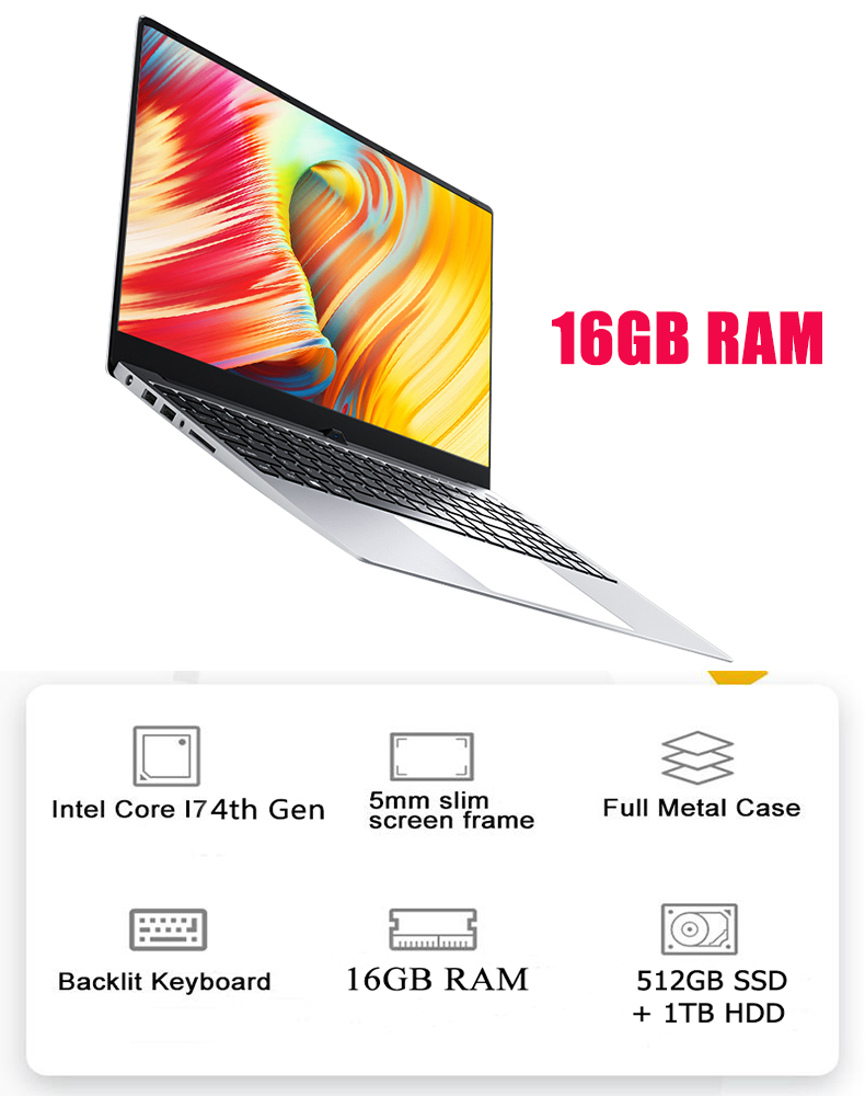 general specification for 16GB
