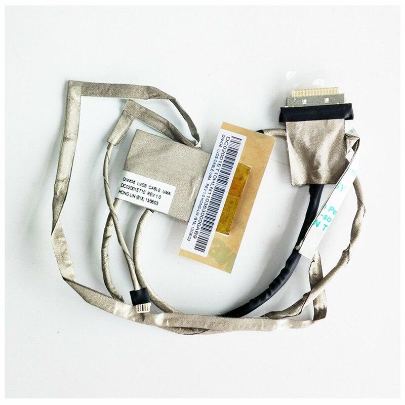 NEW For Lenovo G580 QIWG6 LCD Vedio Cable UMA DC02001ET10 90200464