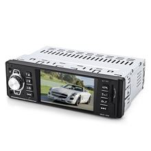 In-Dash Mp5 Car Player 1 Din 4.1 Inch Car Video Player Car Multimedia Player Audio Fm Radio Mp3 Mp4 Dvd Usb Sd Aux(China)