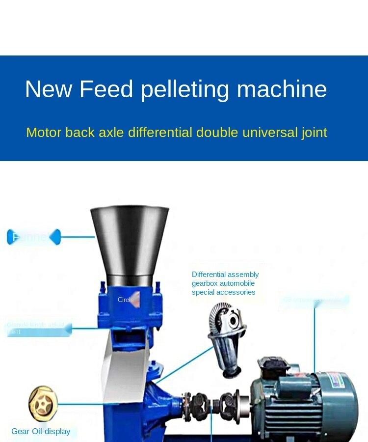 que faz a máquina granulador 100 kg