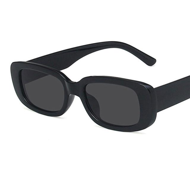 Luxury Brand Travel Small Rectangle Sun Glasses  1
