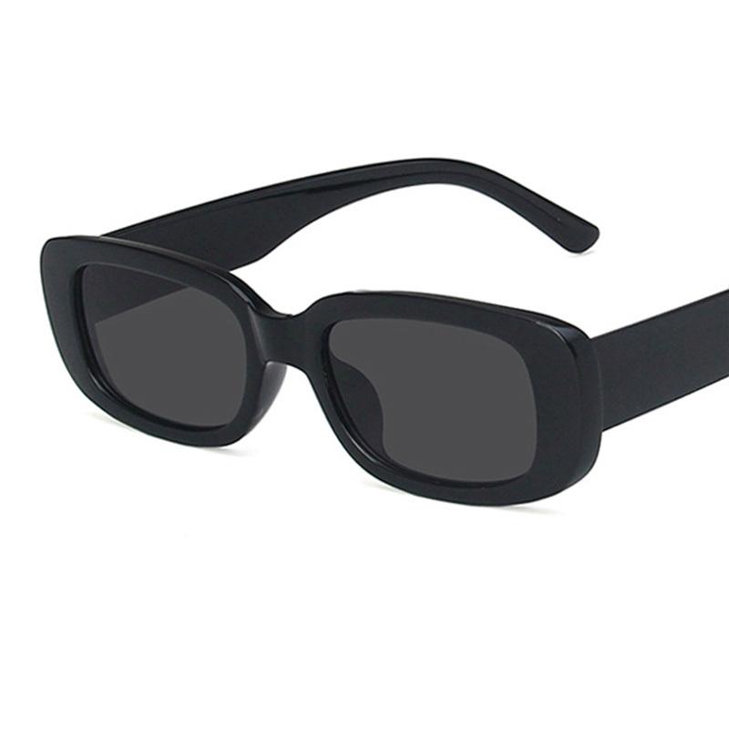2021 Square Lady Sunglasses Luxury Brand Travel Small Rectangle Sun Glasses Men and Women Eyeglasses Vintage Retro