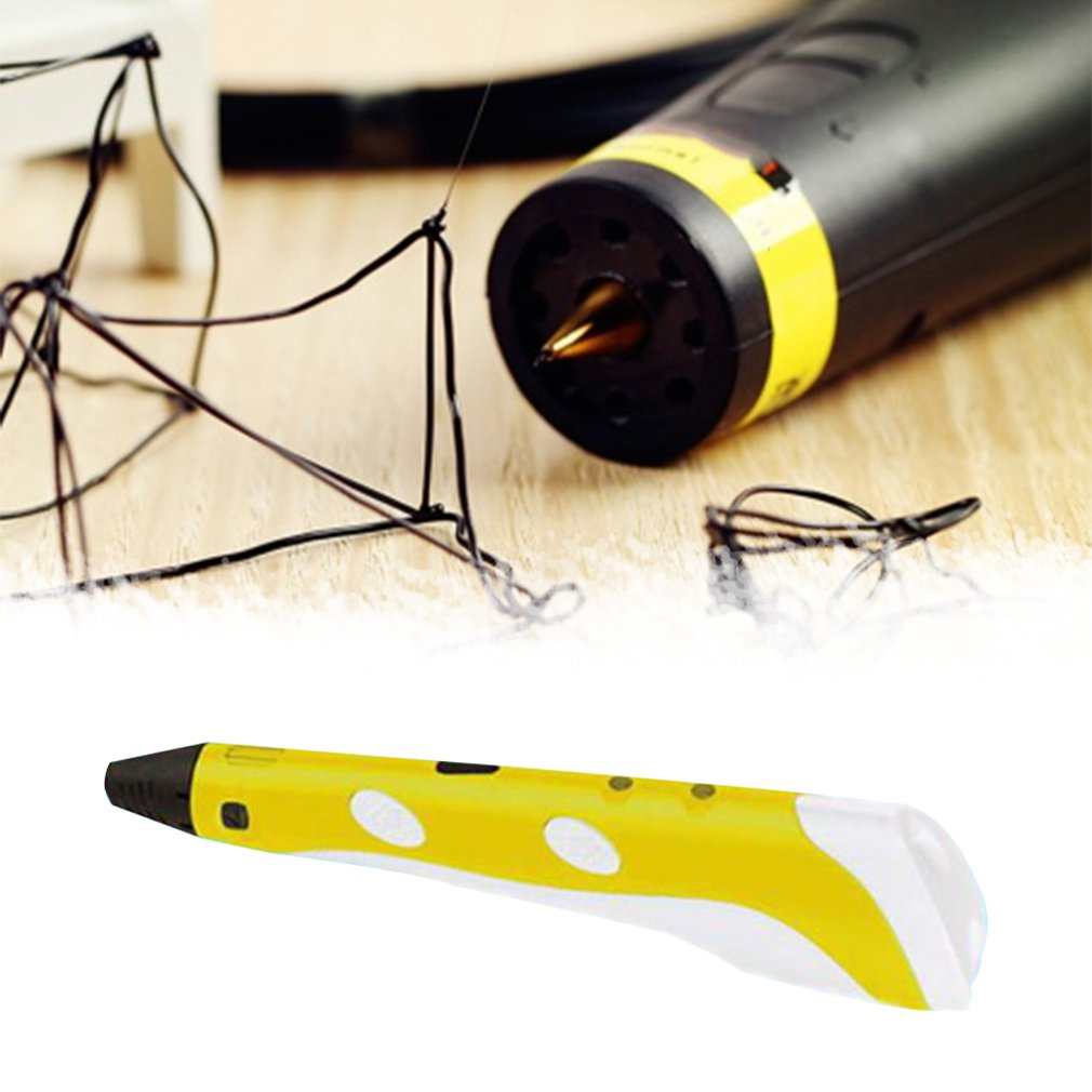 Pen Painting 3d-Pen Plastic Stereo Toy Three-Dimensional-Molding Holiday-Gift Children's title=