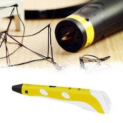 Plastikowe pióro do dekorowania 3D dziecięcy prezent świąteczny 3D pióro dziecięce zabawki Stereo malowanie trójwymiarowe formowanie w Długopisy 3D od Komputer i biuro na