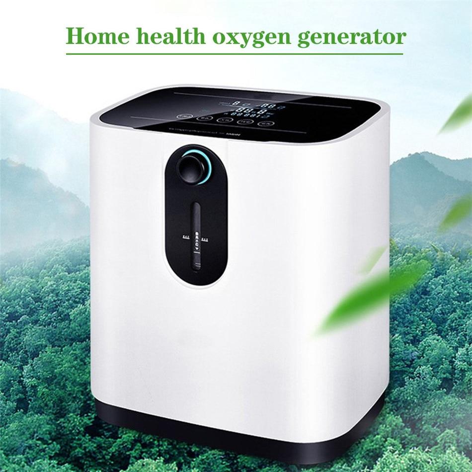 ZY-1 1-7 л/мин портативный концентратор кислорода генератор кислорода делая машину домашний Регулируемый очиститель воздуха высокой чистоты ...