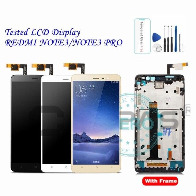 Aaa para xiaomi redmi nota 3 pro display lcd + quadro painel da tela de toque redmi note3 pro display lcd digitador peças completas