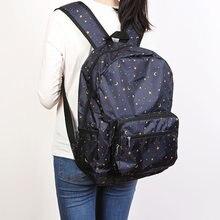 Легкий рюкзак с рисунком фолдейла портативный для спорта на