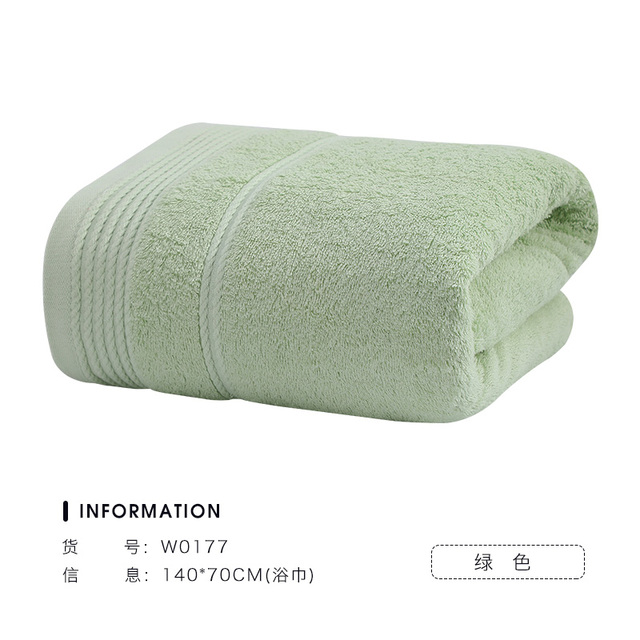 Large Luxury Cotton Bath Towel Set Soft Super Absorbent Adults White High Quality Hotel Couple Decorative Bathroom Towels MM60YJ