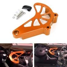 Fit for KTM 690 Enduro R SMC R 690 SMC R Fit for Husqvarna 701 Enduro SM Front Sprocket Cover Case Saver Protector Chain Guard