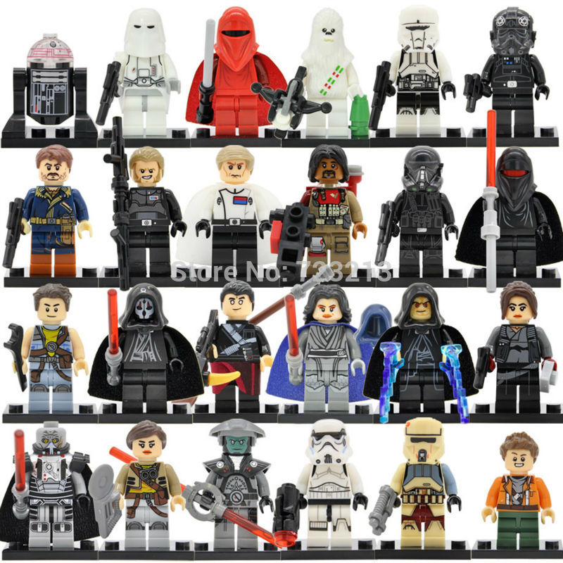 Single Sale Star Wars Red Guard Figure Inquisitor Erso Death Shadow Troopers Darth Malgus Building Blocks Bricks Toys Legoing
