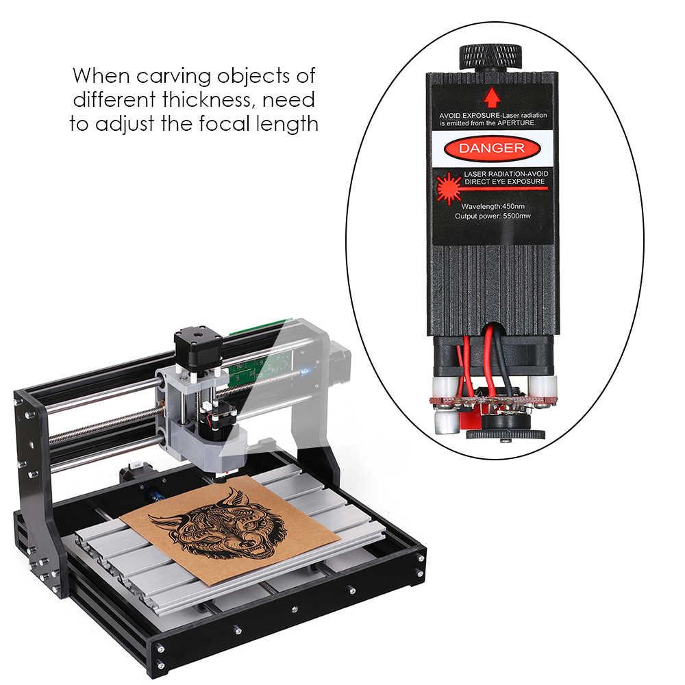 Module Laser 500 mw/405nm, 2500 mw/450nm, 5500 mw/450nm focalisable pour la gravure sur CNC/gravure Laser