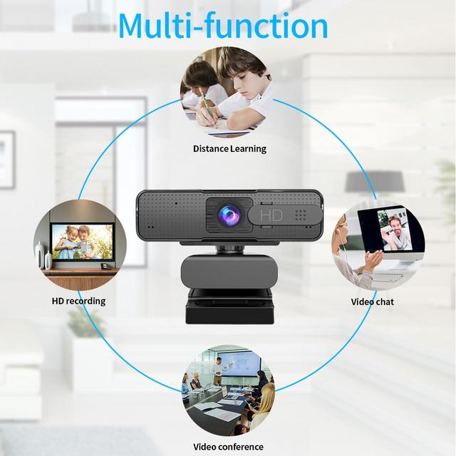ASHU H701 HD USB Webcam 1080p Autofocus Web Camera with Microphone AF Autofocus Camera For Computer Live Online Teaching 2