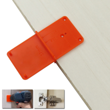 Template Woodworking-Tool Hole-Tools Punch-Hinge Guide Drill-Bit Locator Drill-Hole-Opener