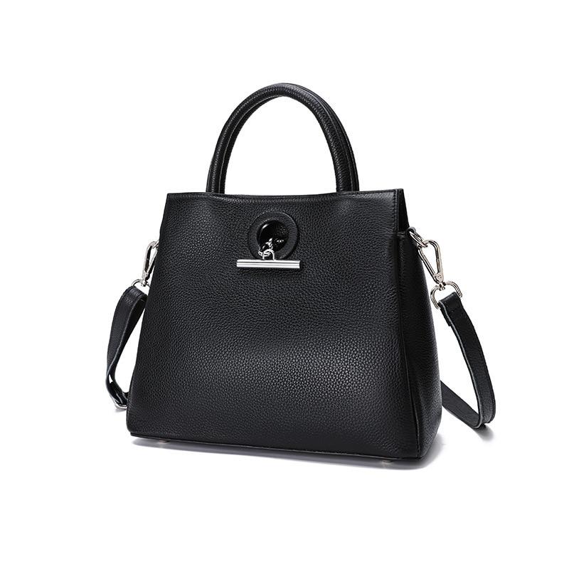 Luxury Genuine Leather Women Handbags Ladies Shoulder Bags Large Capacity Crossbody High Quality Female Messenger Soft Totes