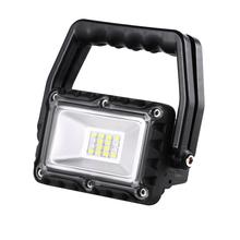 Folding Waterproof 6500K DC 5V 8W LED Work Light Lamp For Offroad Boat Tractor Truck 4x4 SUV Fog Headlight for ATV Led bar
