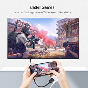 Image 5 - iPhone to HDMI Adapter 1080P Digital AV Converter Lightning to HDMI Cable Adapter For iPhone iPad HDMI Adapter For iPhone to TV