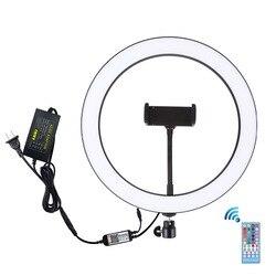 30cm RGBW  Dimmable ring light USB LED Selfie Ring light Photography photo studio Light Vlogging Youtube Video Makeup Light